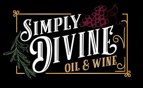 simply divine oil & wine logo
