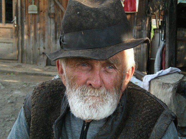 Wise old farmer